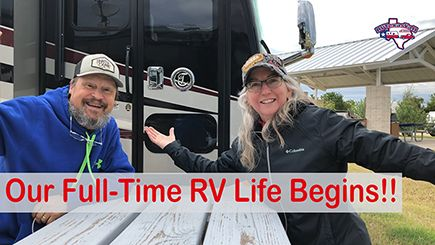 Our Full-Time RV Life Begins!