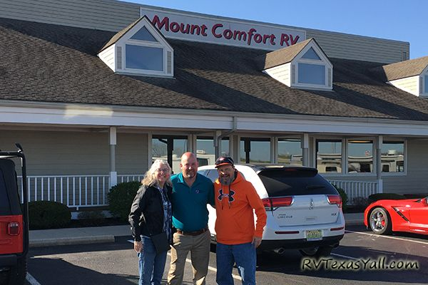 Thanks to Chris Anderson and Mount Comfort RV