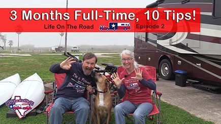 Our RV Life On The Road Begins in San Felipe TX