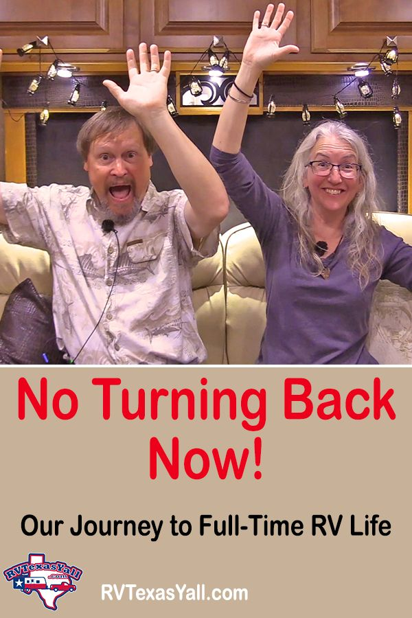 There's No Turning Back Now!   RVTexasYall.com   Our house is sold and we are officially nomads! The adventure begins and there's no turning back!
