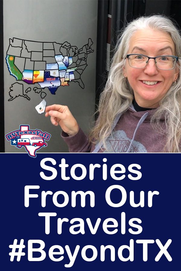 Stories From Our RV Travels #BeyondTX | RVTexasYall.com shares a few stories of fun events and road trips they've experienced in their RV while traveling across the USA. #rvamerica