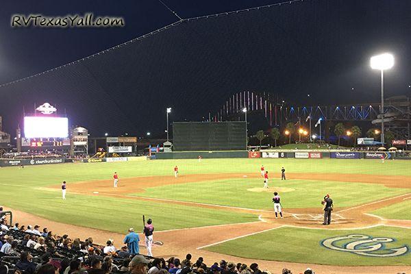 Whataburger Field in Corpus Christi