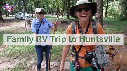 Family Trip to Huntsville