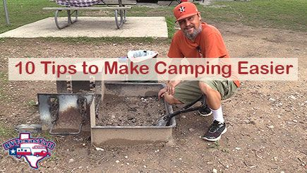 10 Ways to Make Camping Easier