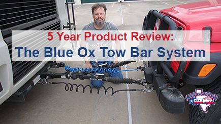 Blue Ox Tow Bar 5 Year Review
