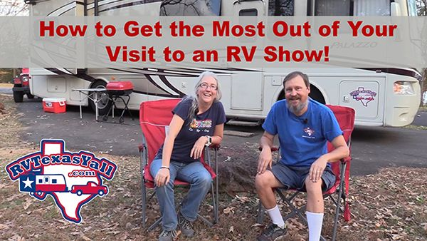 How to Get The Most Out of an RV Show