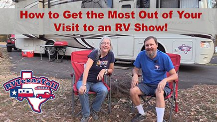 Preparing for an RV Show