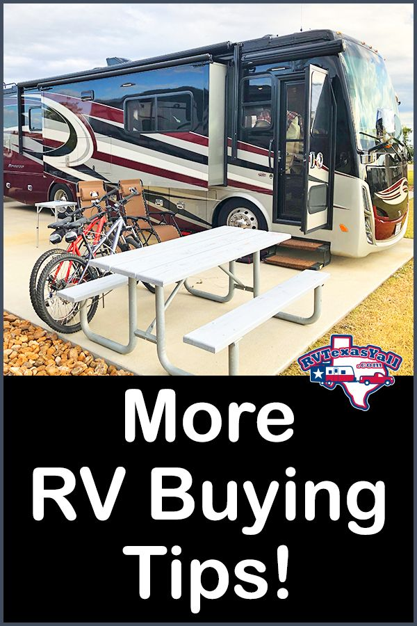More RV Buying Tips! | RVTexasYall share their experience to give you a few more things to think about before you buy your first or next RV.