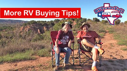 More RV Buying Tips