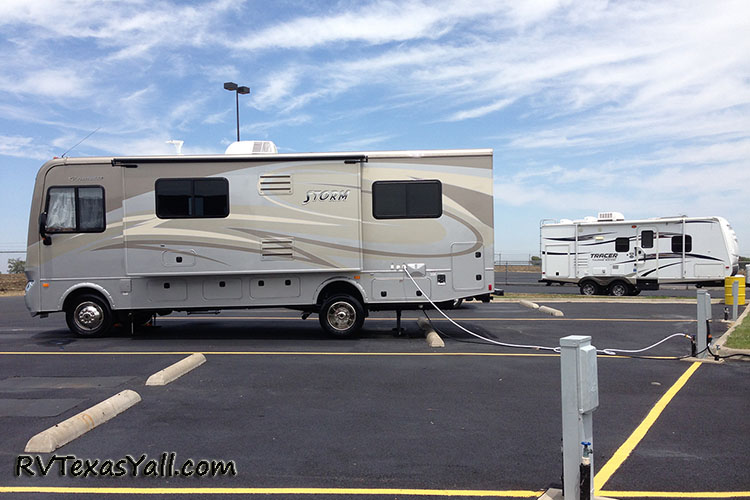 Motorhome and Travel Trailer