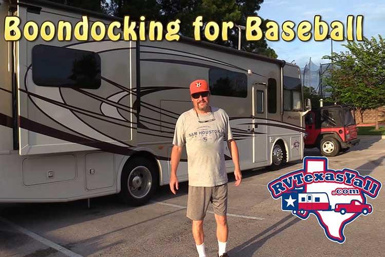 RV Tip #2: Dry Camping / Boondocking