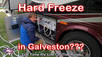 Prepping RV For Hard Freeze