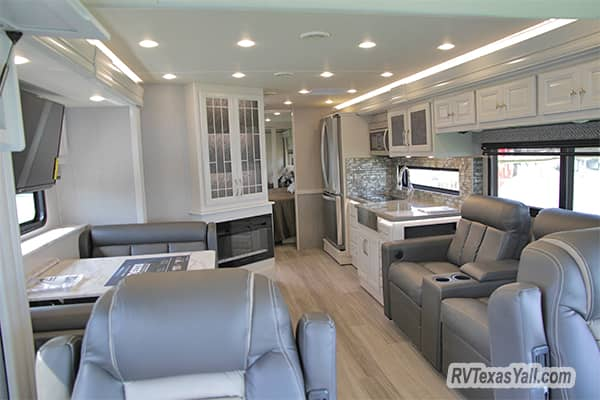 Inside the Holiday Rambler Nautica 33TL