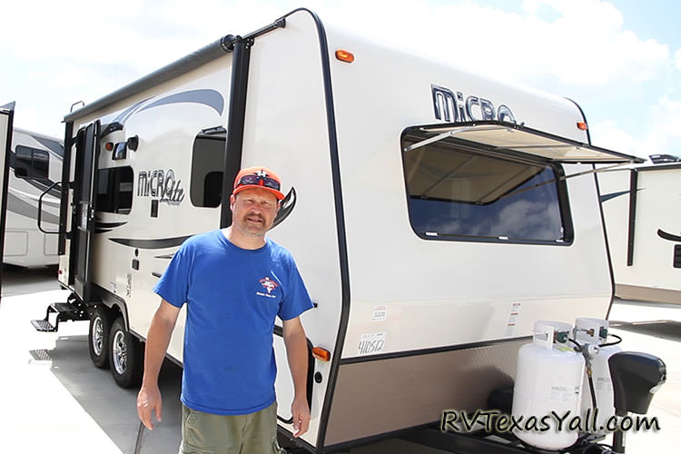 Touring an RV