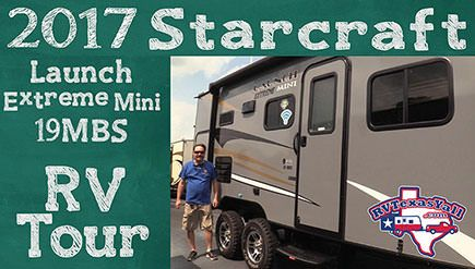 2017 Starcraft Launch Extreme Mini 19MBS