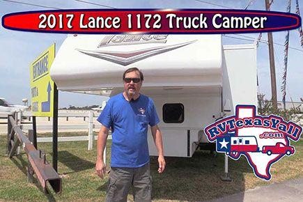 2017 Lance 1172 Truck Camper