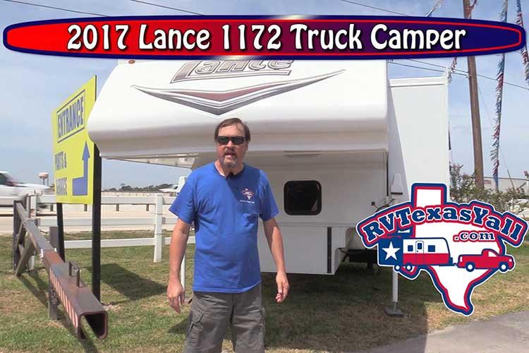 Lance 1172 Truck Camper