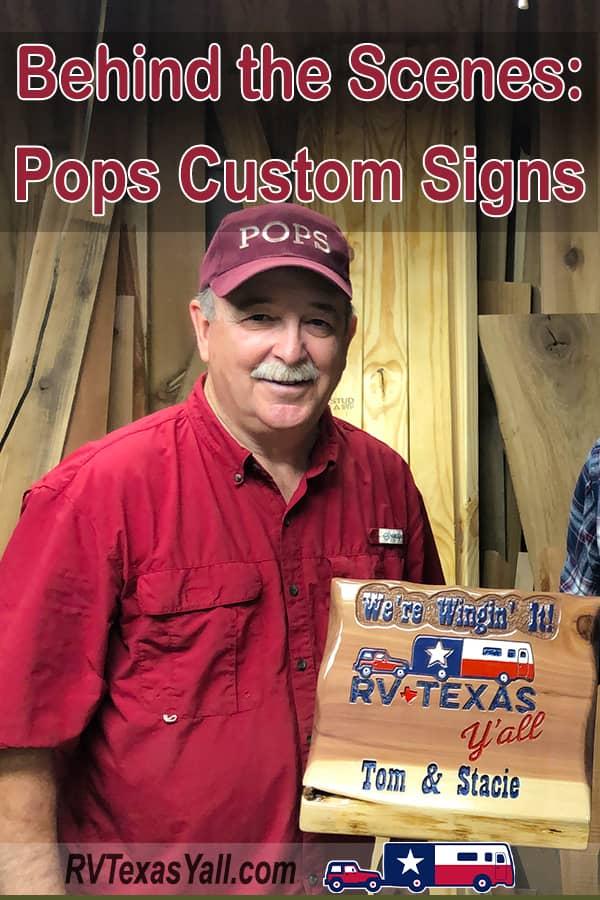 Pops Custom Signs