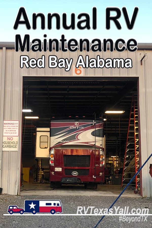 Annual RV Maintenance in Red Bay AL | RV Texas Y'all