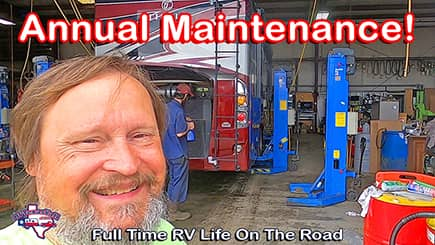 Annual RV Maintenance in Red Bay