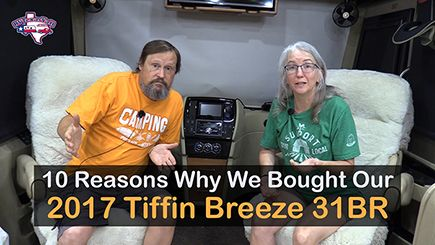 Why We Bought Our Tiffin Breeze 31BR