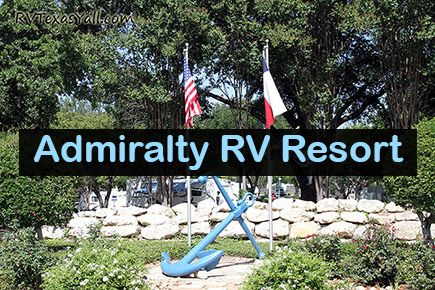 Admiralty RV Resort, San Antonio TX