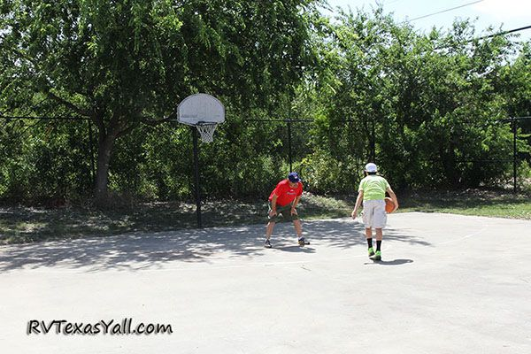 Basketball Court at Admiralty RV Resort