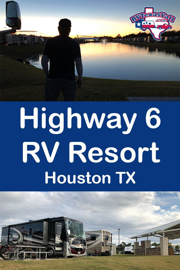 Highway 6 RV Resort | RVTexasYall.com takes you on a video tour of Highway 6 RV Resort in Houston TX