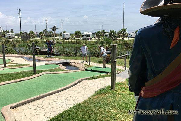 Jamaica Beach Mini Golf Course