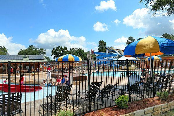 Lone Star Jellystone Swimming Pool