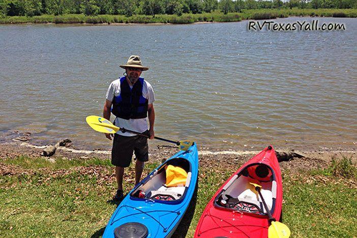 Kayaking Jarboe Bayou