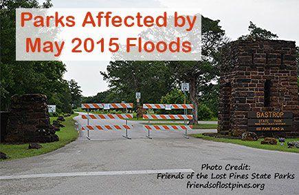 May 2015 Park Closures