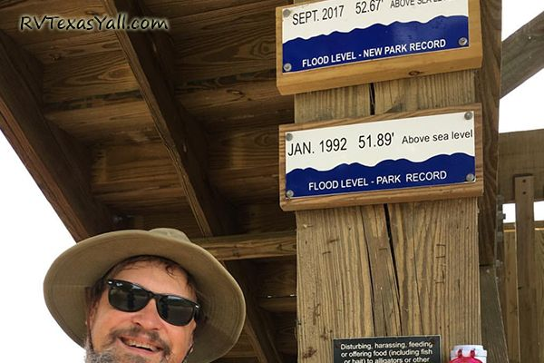 Historic High Water Line Markers