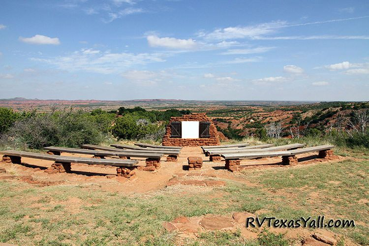Caprock Canyons Amphitheater