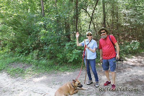 Hiking with Stacie's Mom