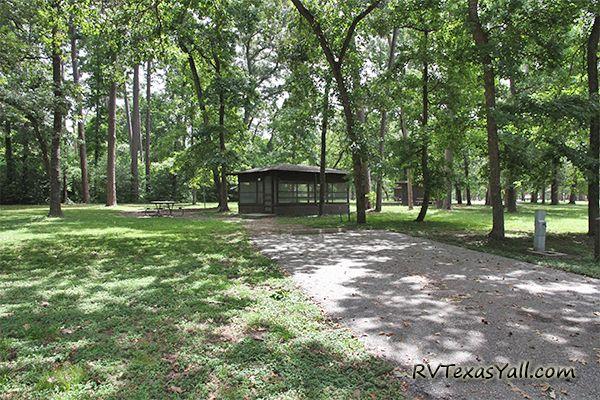 Huntsville State Park Shelter