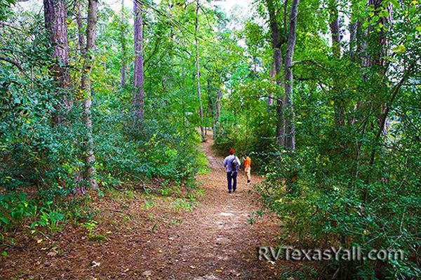 hiking at Huntsville State Park