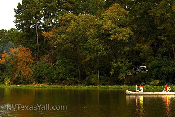 Lake Raven is Great for Paddling