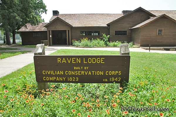 The CCC-Built Raven Lodge