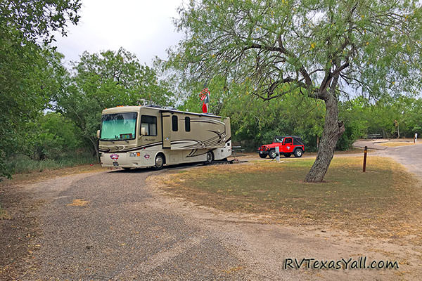 Javelina Camping Loop at Lake Corpus Christi