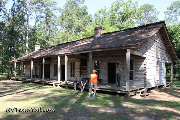 1820s Rice Family Log Home