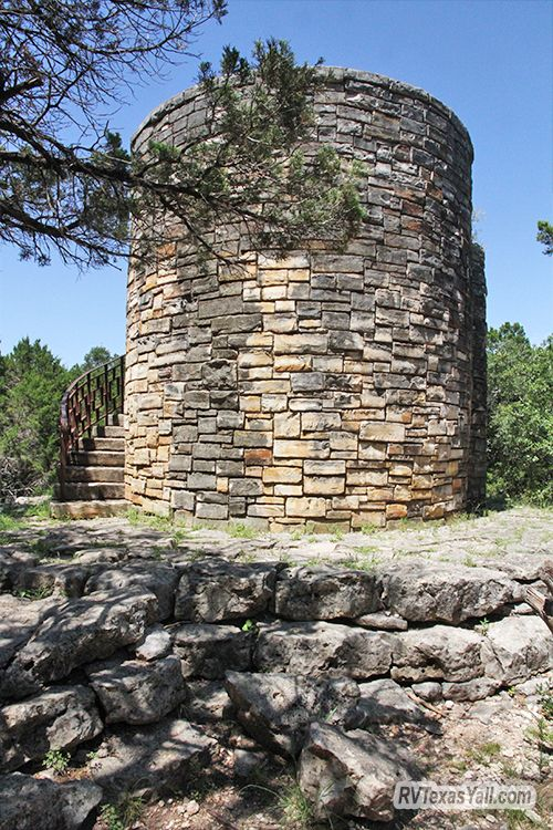 Historic CCC Rock Tower