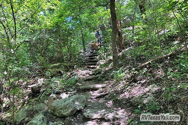 Shaded Hiking Trails