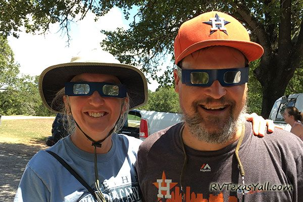 Eclipse Party at Palmetto State Park