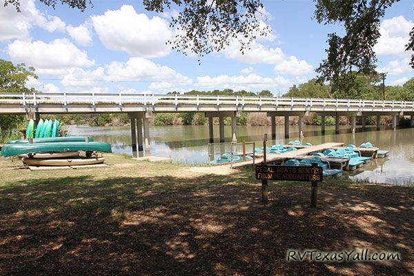Boat Rentals at Palmetto State Park