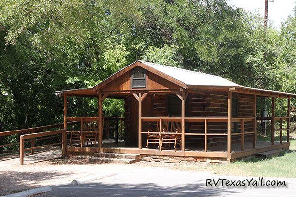 Palmetto State Park Cabin