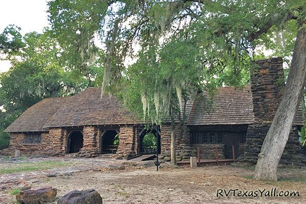 The CCC Refectory at Palmetto State Park