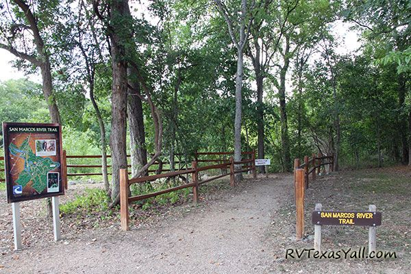 San Marcos River Trailhead at Palmetto State Park