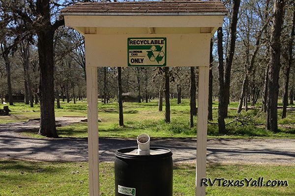 SFA State Park Recycling Center