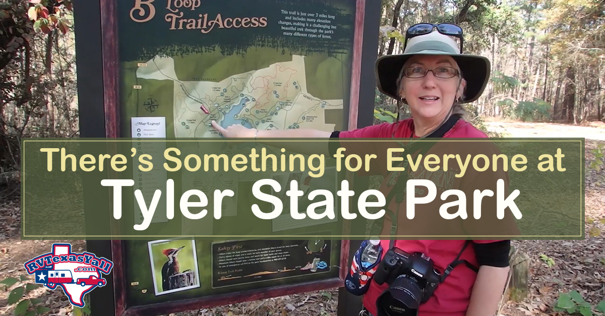 Tyler State Park Visitor Guide Park Review Rvtexasyall Com